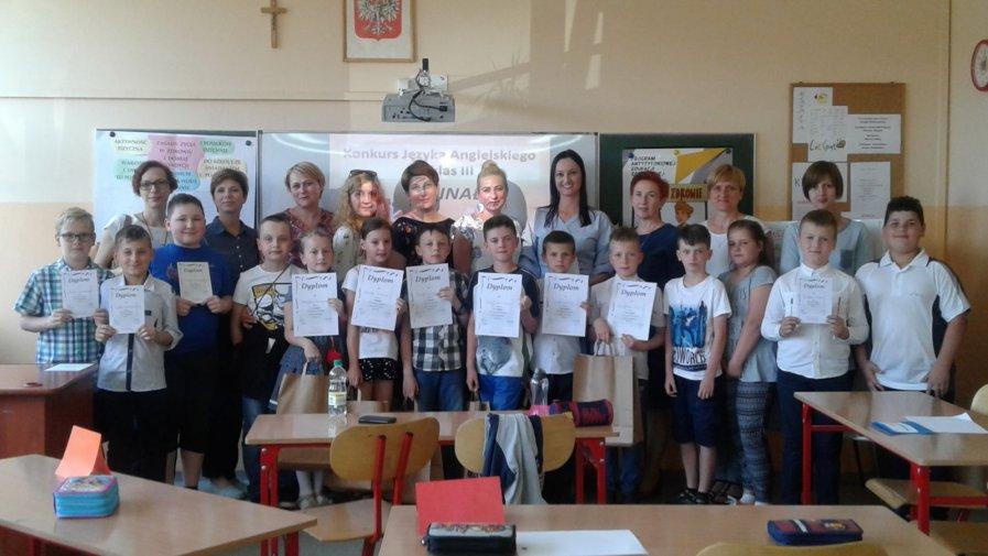 VII  Gminny  Konkurs Języka Angielskiego  dla klas III