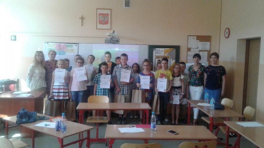 VII  Gminny  Konkurs Języka Angielskiego  dla klas IV