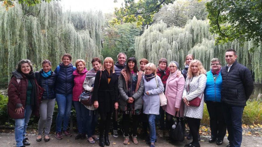 Szwajcarscy nauczyciele z wizytą w Ósemce