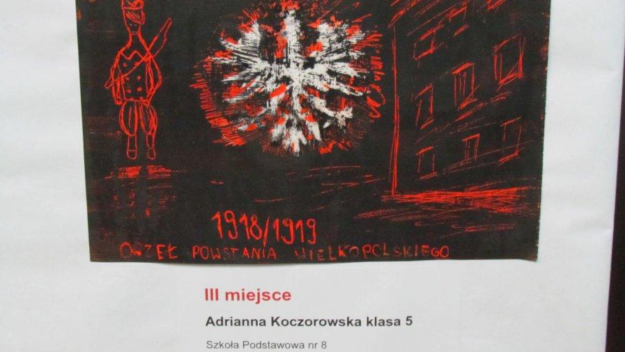 Laureatka konkursu Orły Powstania Wielkopolskiego 1918-1919