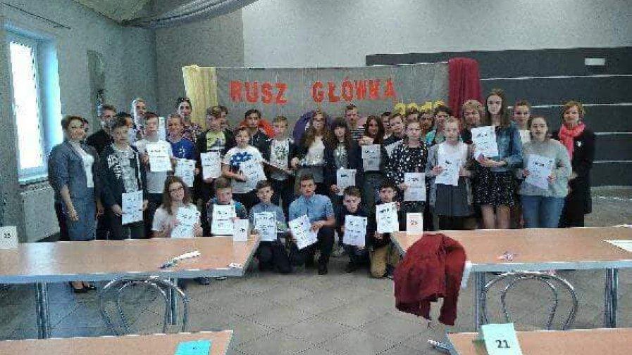 """Powiatowy Konkurs Matematyczny """"Rusz główką"""" dla klas 6 i 7"""
