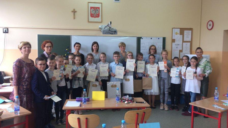 VIII  Gminny  Konkurs Języka Angielskiego  dla klas III i VI