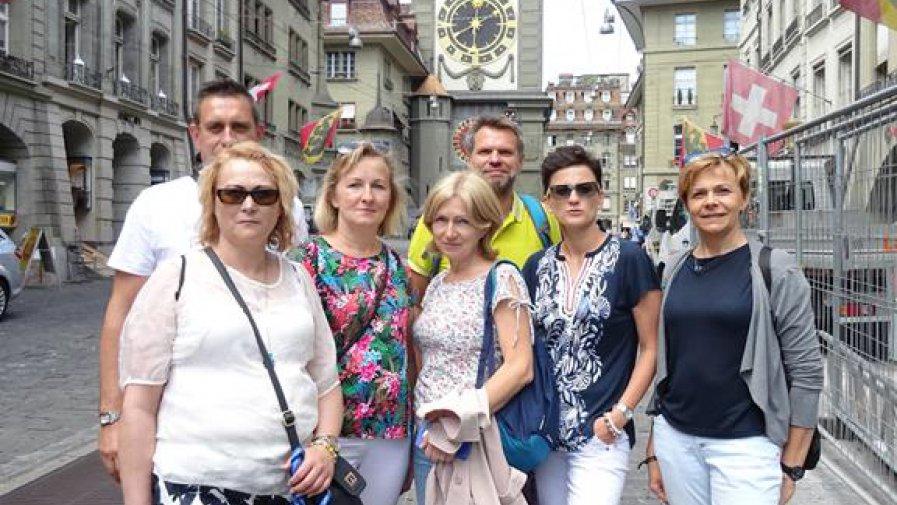 Wizyta nauczycieli z Ósemki w Kriens w Szwajcarii
